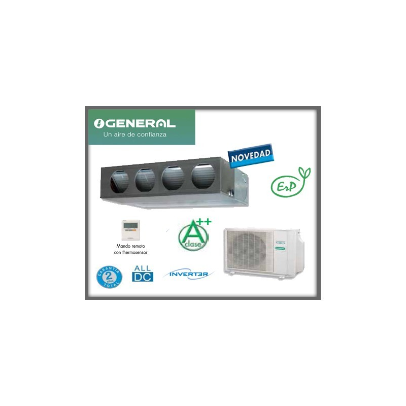 GENERAL CONDUCTOS ACG24 A++ 6100/6800