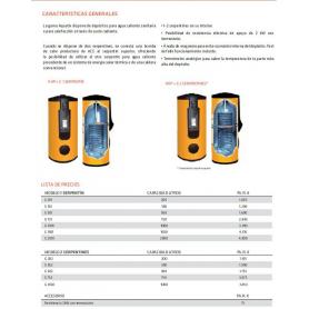 DEPOSITO DE AGUA CALIENTE 2 SERPENTINES G-202
