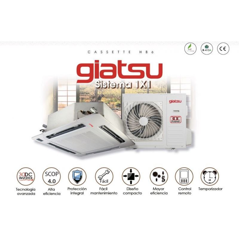 GIATSU CASSETTE GIA-C6-018HB6