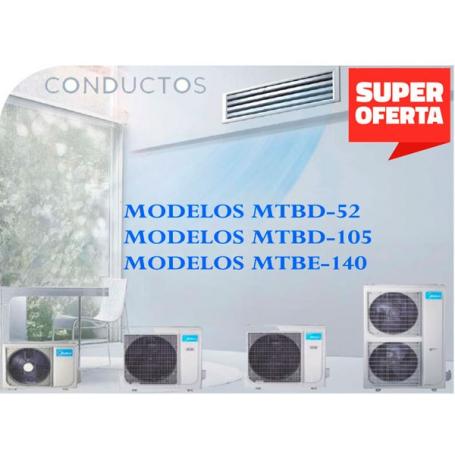 MIDEA CONDUCTOS MTBD-105