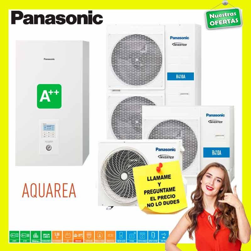 «【Panasonic Aquarea Bibloc H KIT-WC16H9E8-CL - Trifásica】»