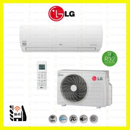 foto conjunto split LG A09FR+A09FR