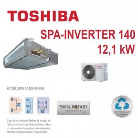 TOSHIBA SPA INVERTER 140 CONDUCTOS